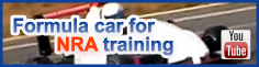 Formula car for NRA training